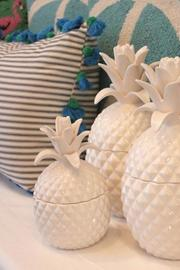 Shoptiques Product: Small Decorative Pineapple - Front full body