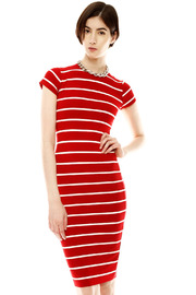 Shoptiques Product: Stripe Pencil Dress