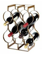 Walker's Gold Wine Rack - Product Mini Image
