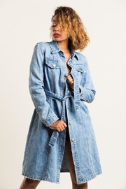 36 POINT 5 Denim Trench Coat - Product Mini Image