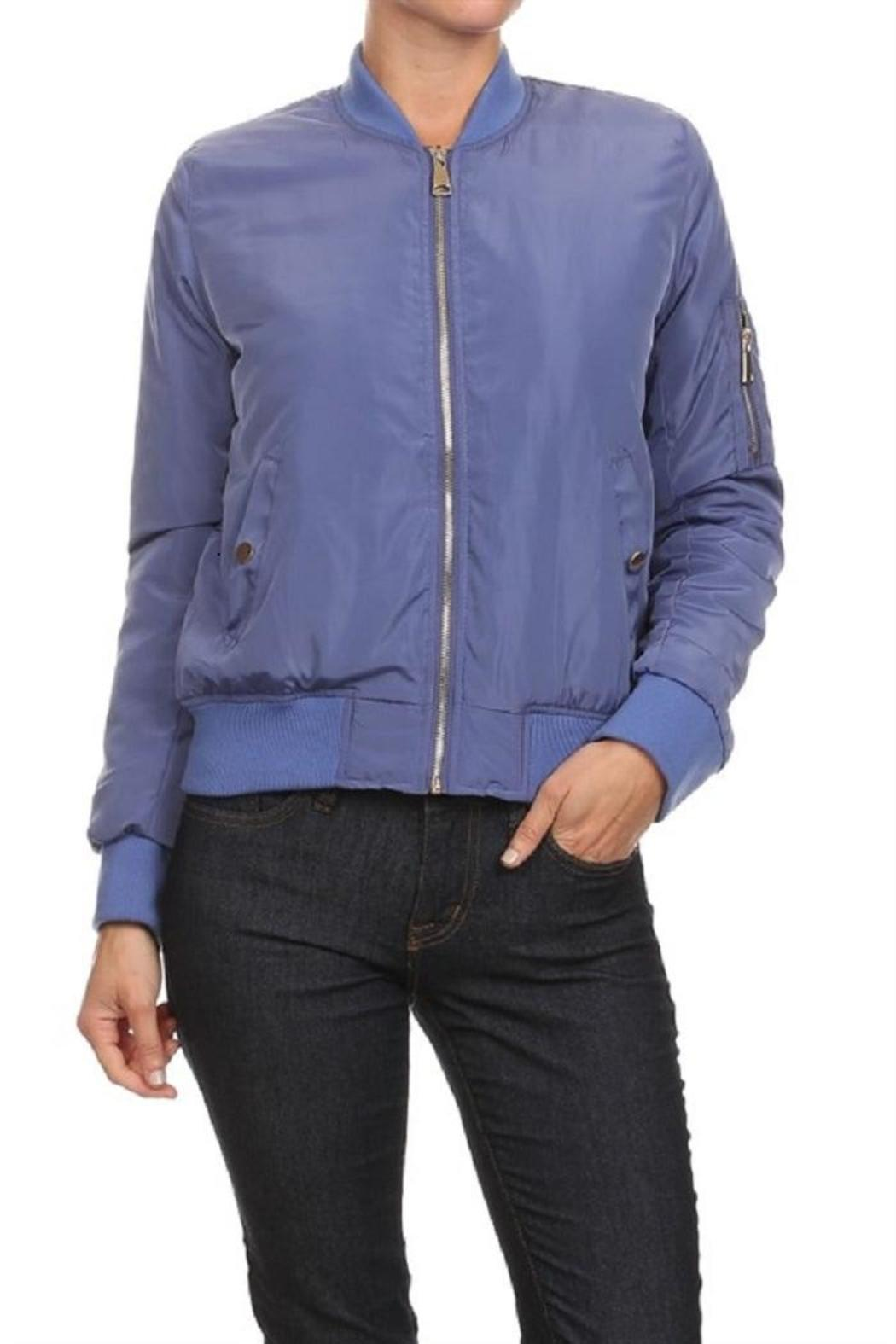 689e70931a 36 POINT 5 Kimk Bomber Jacket from Missouri by Domi More — Shoptiques