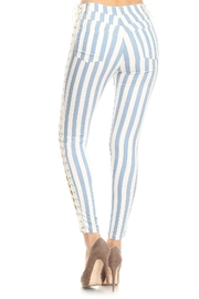 36 POINT 5 Laced Up Pants - Front full body