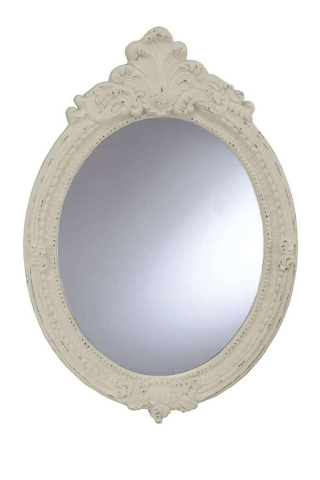 Walker 39 s oval baroque mirror from alabama shoptiques for Baroque resin mirror