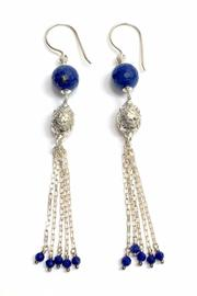 Buy Now: Shop Shoptiques (Lapis Chandelier Earrings) (RMNOnline Fashion Group)