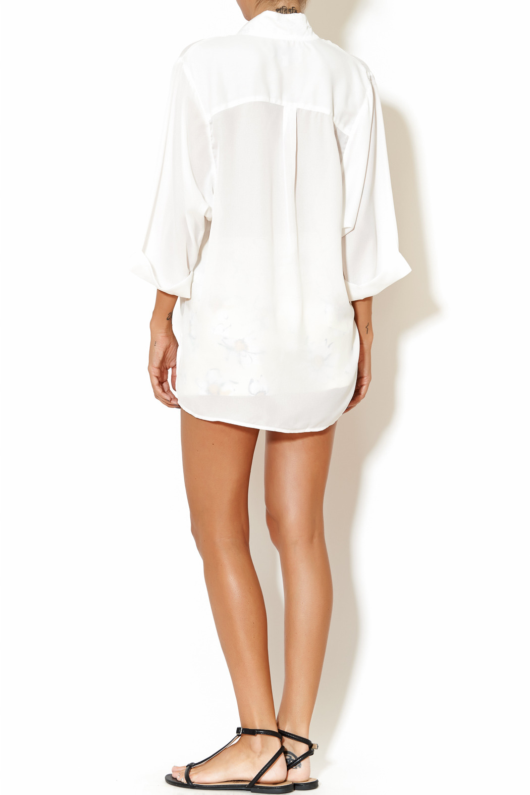 Madison Square Clothing Charlotte Blouse - Side Cropped Image