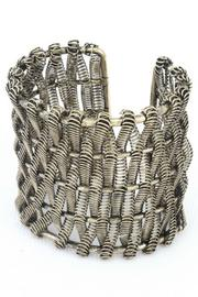 17 STREET Woven Spring Cuff - Product Mini Image