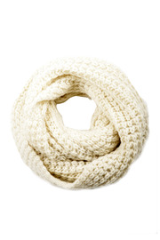 Shoptiques Product: Heavy Knit Infinity Scarf