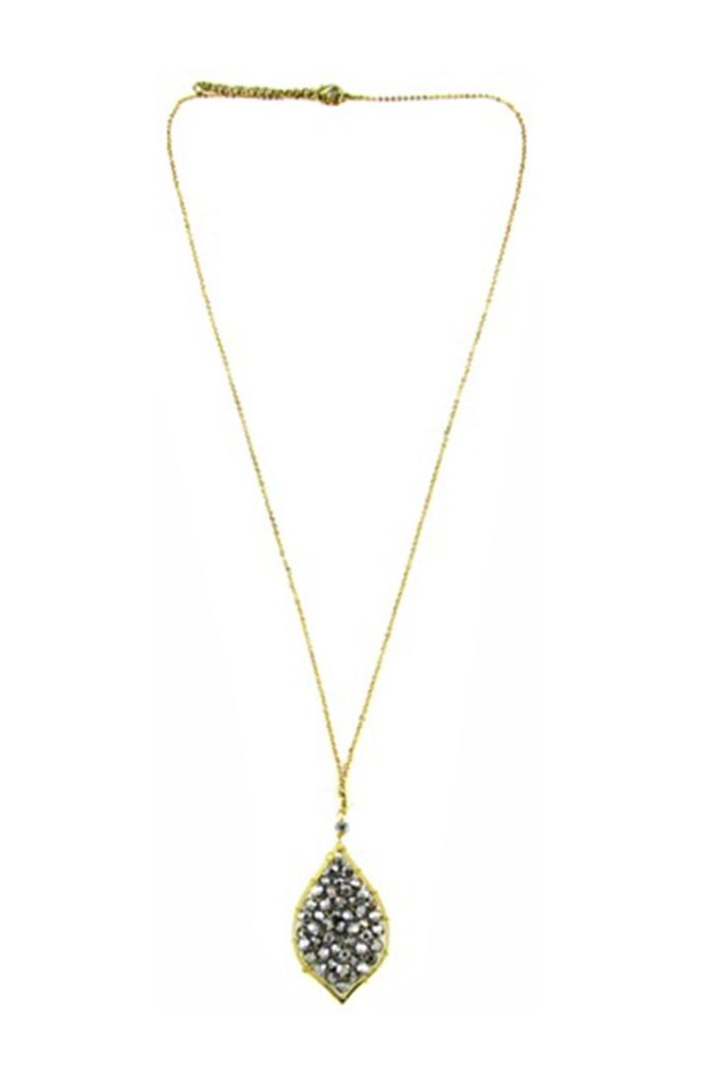 Ananda Golden Brass Necklace - Main Image