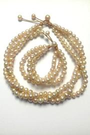 Lily Chartier Pearls Pink Pearl Necklace - Side cropped