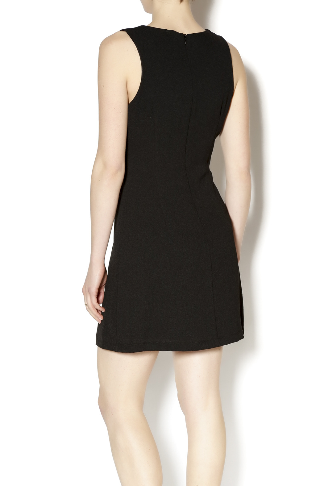 Gina Louise Little Black Dress - Back Cropped Image