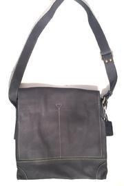 Fredd & Basha Foldover Messenger Bag - Front full body