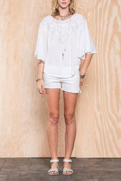 Shoptiques Product: Delicate Embroidered Top