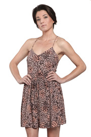 Shoptiques Product: Pink Leopard Dress