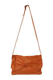 Shoptiques Product: Bow-Flap Leather Purse