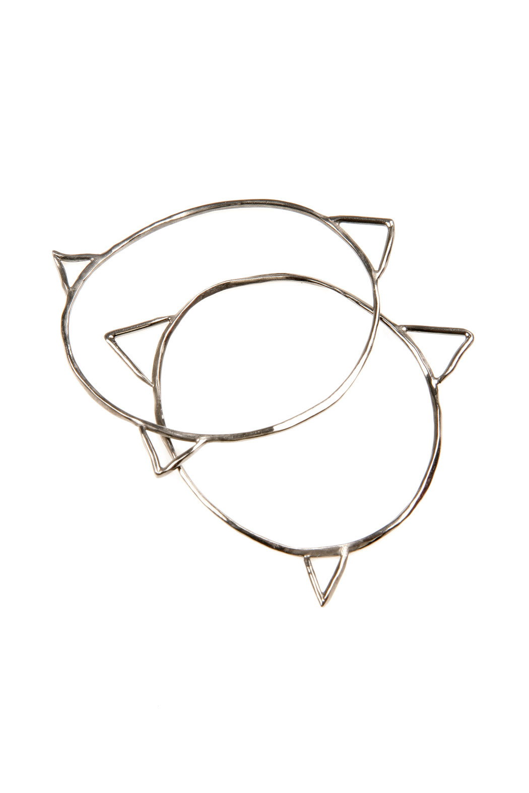 The J Line by Lady J Jewelry Spike Bangle - Front Cropped Image