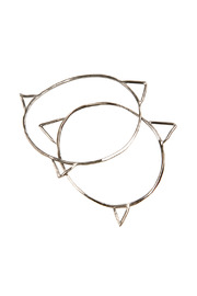 The J Line by Lady J Jewelry Spike Bangle - Front cropped