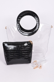 3 AM  Clear Stadium Bag - Front cropped