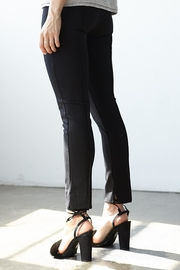 3 Dot Ponte Pintucked Pant - Front full body