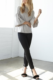 3 Dot Ponte Pintucked Pant - Front cropped