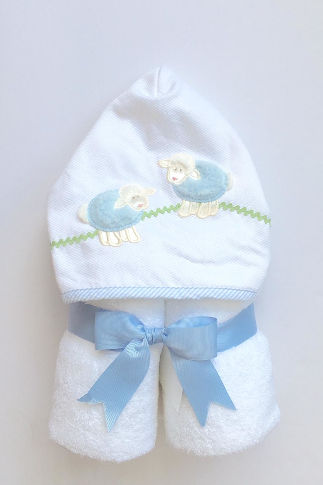 3 Marthas Lamb Hooded Towel - Front Cropped Image