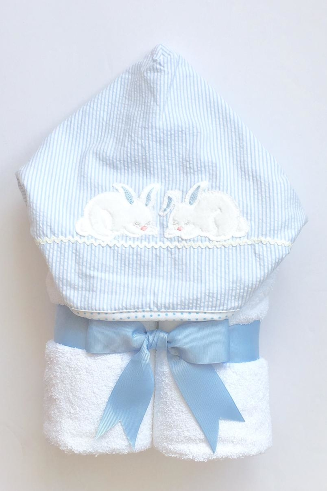 3 Marthas Bunny Hooded Towel - Front Cropped Image