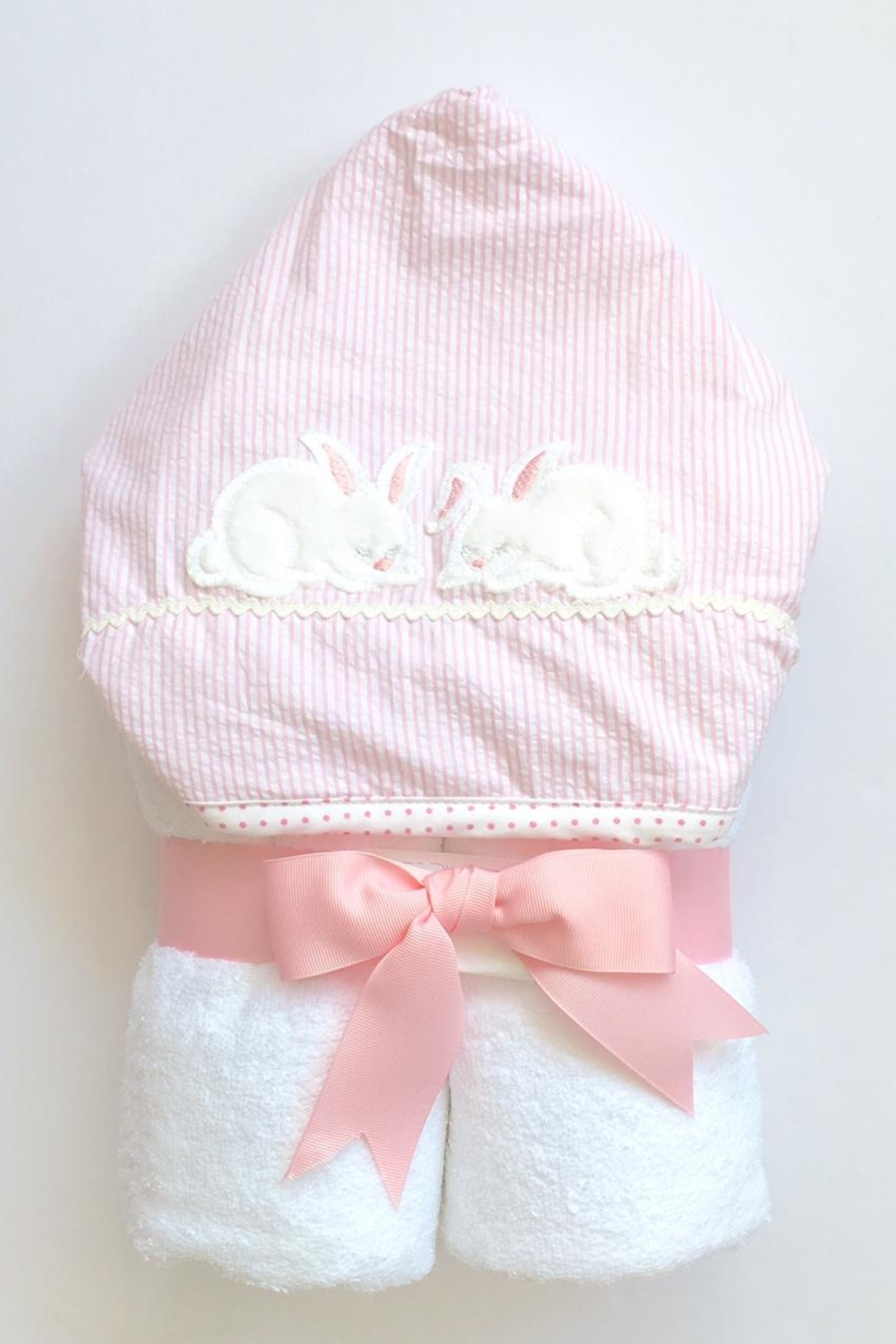 3 Marthas Bunny Hooded Towel - Main Image