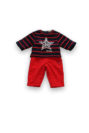 3Pommes Cargo Boy One Piece - Front cropped