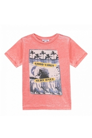 3 Pommes Coral Printed T-Shirt - Product Mini Image