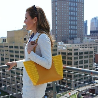 Shoptiques Product: Yellow Tote