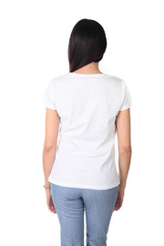 Remarque Bleu Google Tee - Side cropped