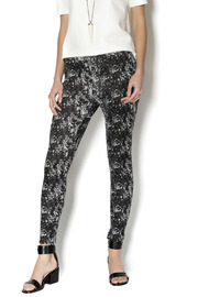 Joseph Ribkoff Print Black White Leggings - Product Mini Image