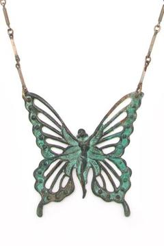 Shoptiques Product: Butterfly Fairy Necklace