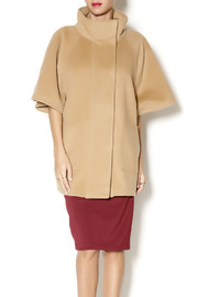 Katherine Barclay Structured Camel Coat - Product Mini Image