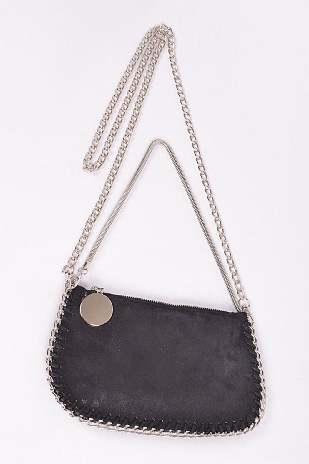 3AM FOREVER Chain Twined Clutch - Front Full Image