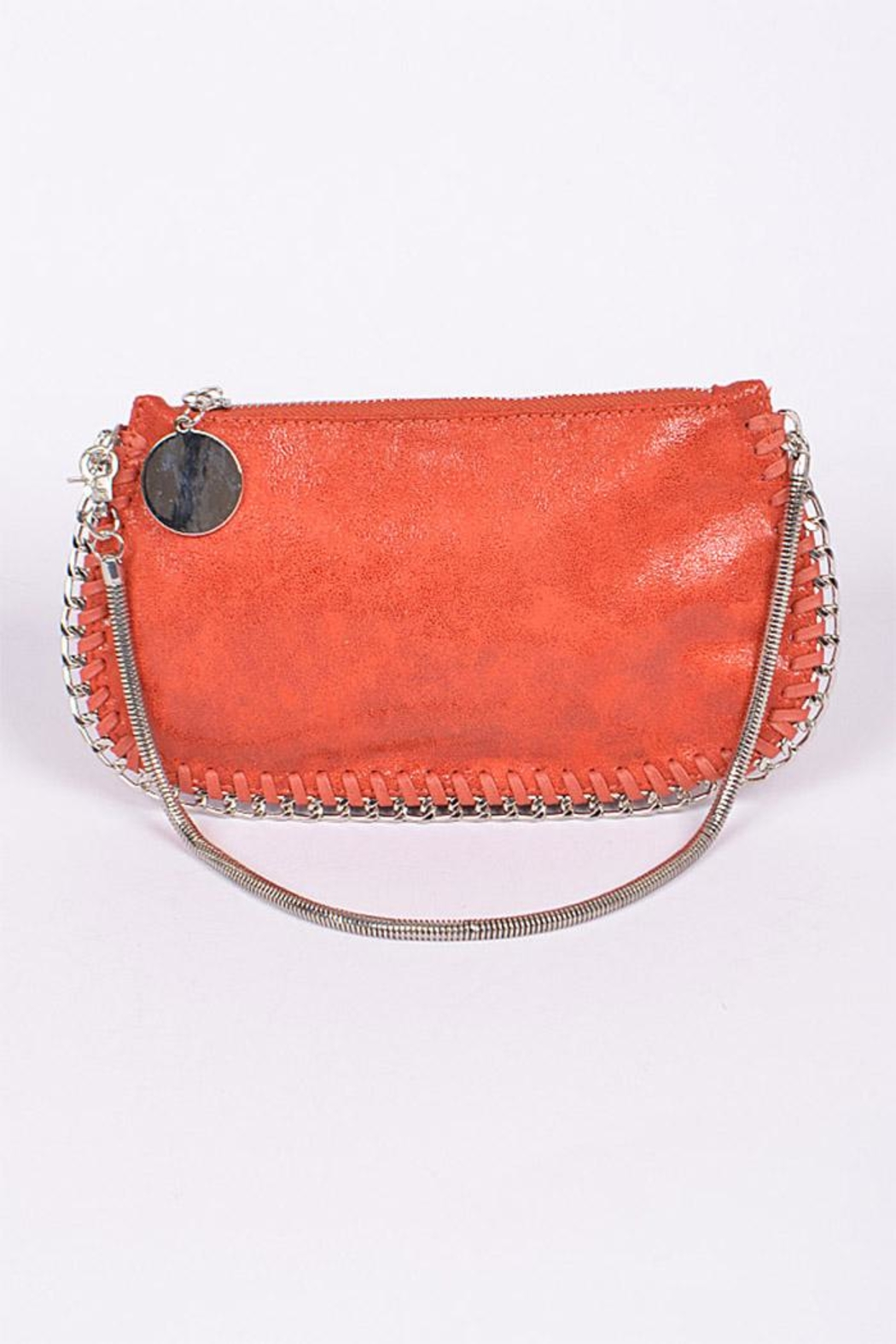3AM FOREVER Chain Twined Clutch - Front Cropped Image