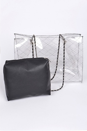 3AM FOREVER Clear Vinyl Tote - Product Mini Image