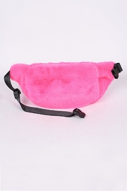 3AM FOREVER Faux Fur Fannypack - Front cropped