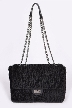 Shoptiques Product: Faux Fur Handbag
