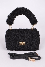 3AM FOREVER Fuax Fur Crossbody - Front cropped