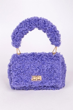 Shoptiques Product: Fuax Fur Crossbody