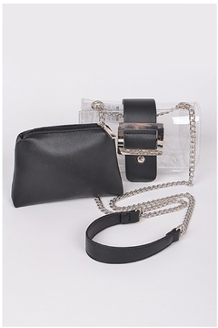 Shoptiques Product: Lucite Chain Bag