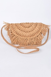 3AM FOREVER Straw Clutch - Product Mini Image