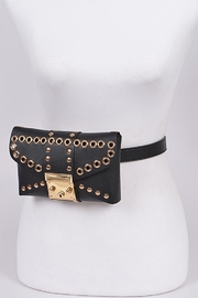 3AM FOREVER Studded Belt Bag - Front cropped
