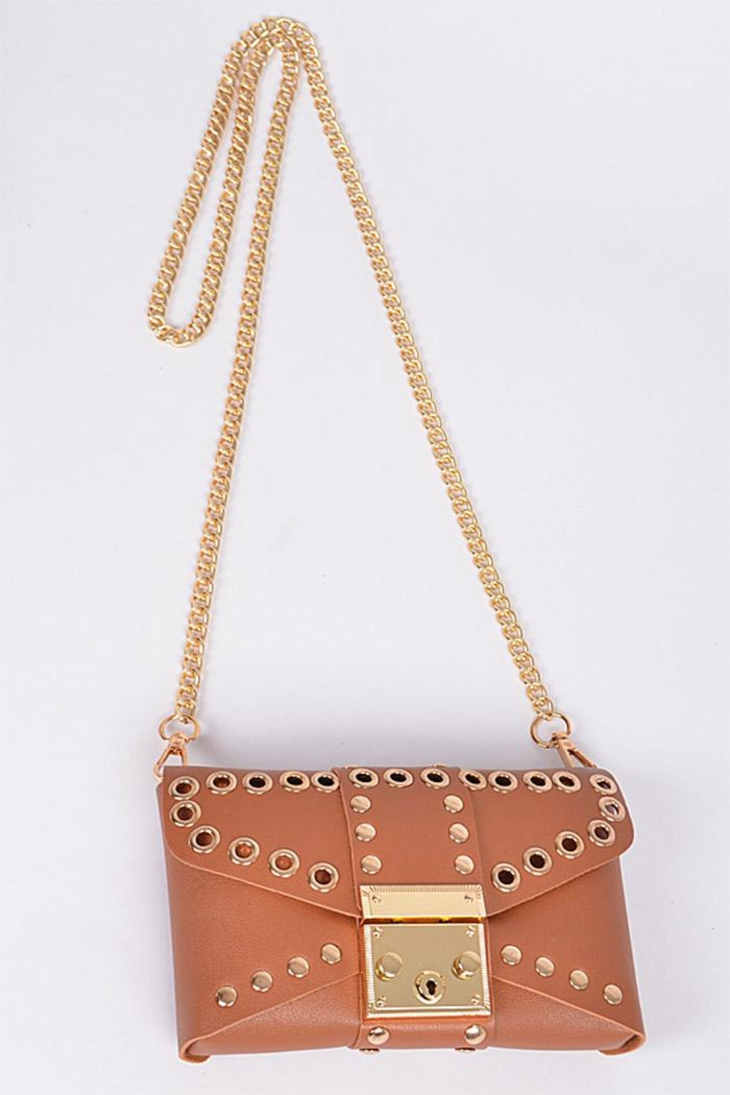 3AM FOREVER Studded Belt Bag - Front Cropped Image