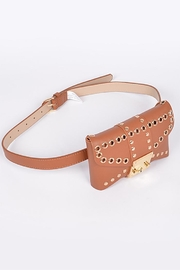 3AM FOREVER Studded Belt Bag - Front full body