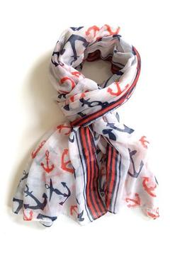 Shoptiques Product: Red Hampton Scarf