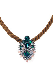 Shourouk Ivana Necklace - Front full body