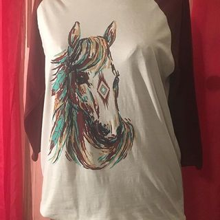 Shoptiques Crazy Train Horse