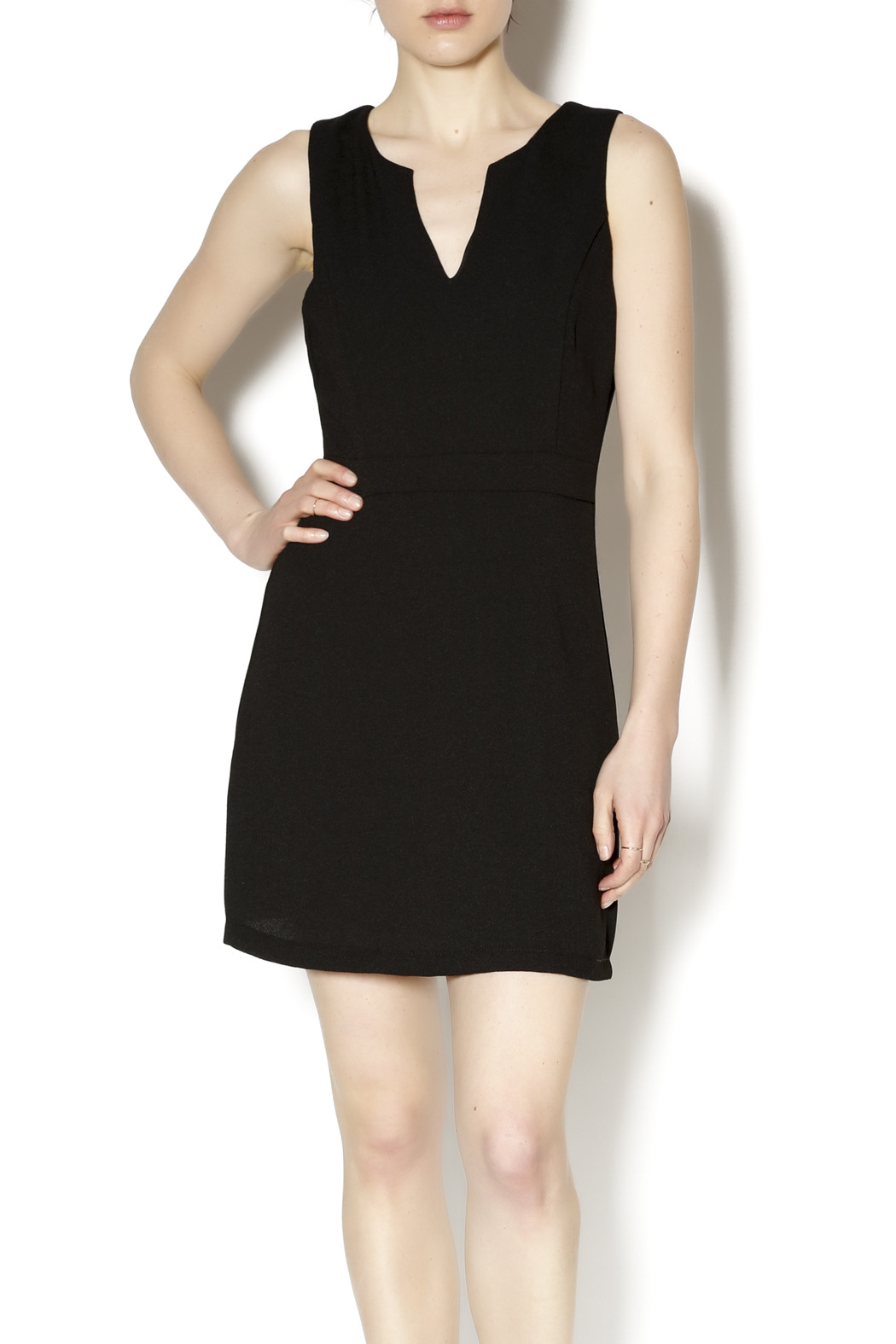 Gina Louise Little Black Dress - Front Cropped Image