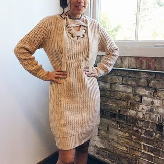 Shoptiques Sweater Dress